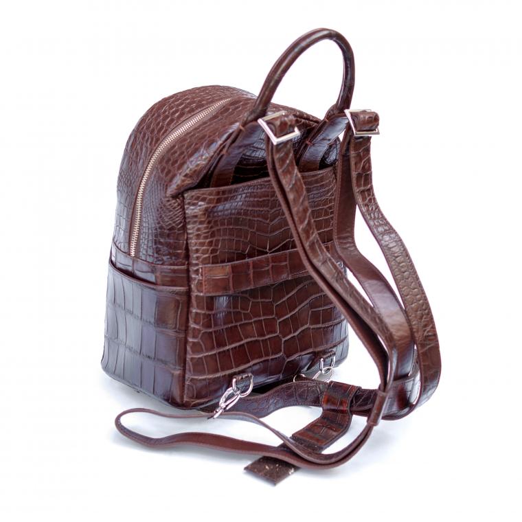 Рюкзак из кожи Крокодила