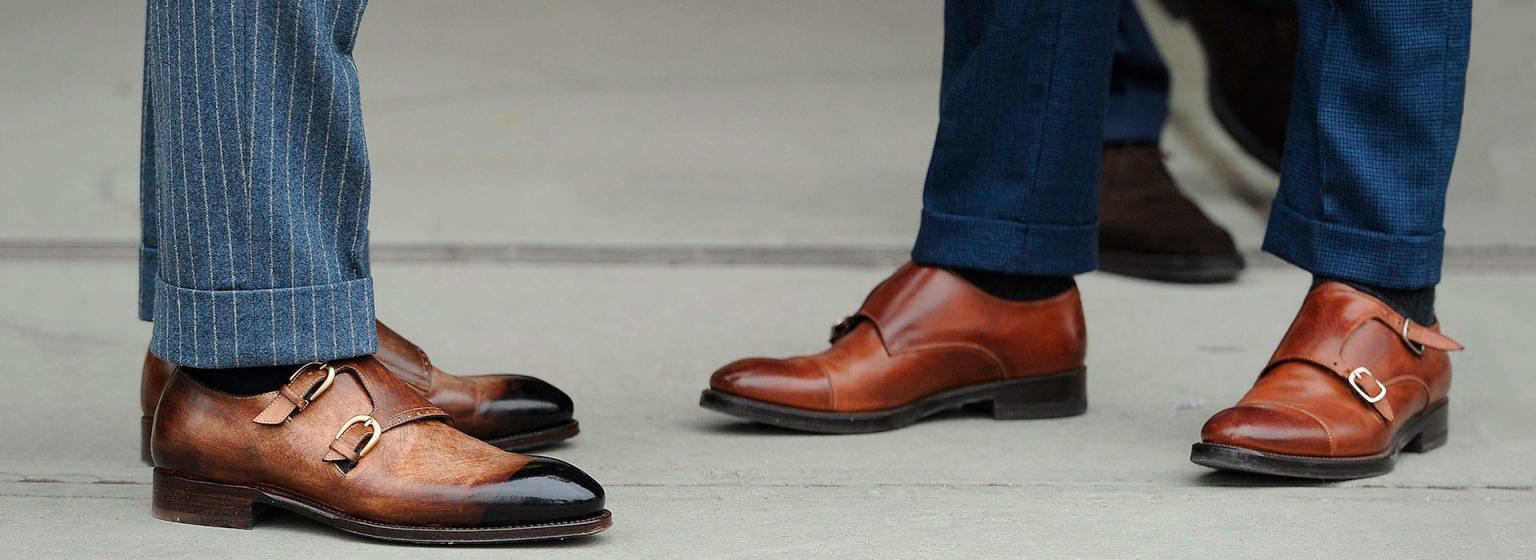 Современная обувь из натуральной кожи